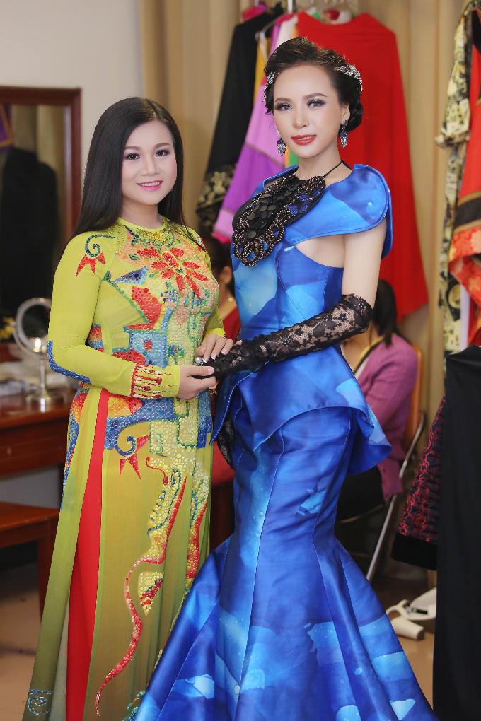 Á hậu Ngọc Quỳnh diện váy cắt cúp táo bạo