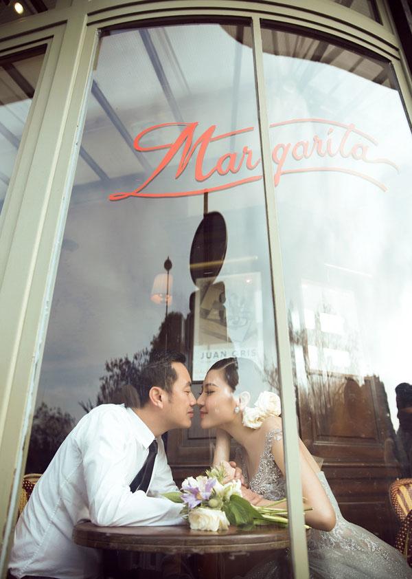 Ngọc Duyên sang Pháp chụp ảnh cưới với bạn trai hơn 18 tuổi