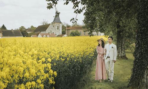 Ảnh cưới ở Paris đẹp như poster phim của cặp đôi 9X Việt