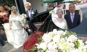 Chuyện tình 'chai nước mắm' của hai cụ có đám cưới kim cương ở Hải Phòng