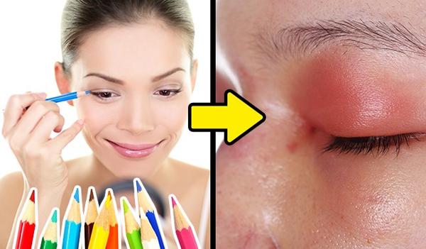 Chì tô màu cũng không phải là một giải pháp hay để thay thế cho bút kẻ mắt.