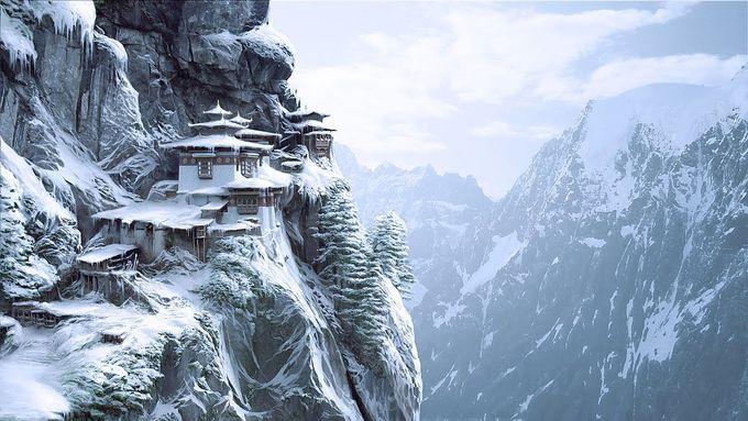 Bhutan - nơi hạnh phúc nhất thế giới đẹp như tiên cảnh vào mùa đông