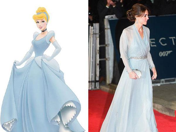 7 bộ cánh khiến công nương Kate y chang các nàng công chúa Disney - ảnh 6