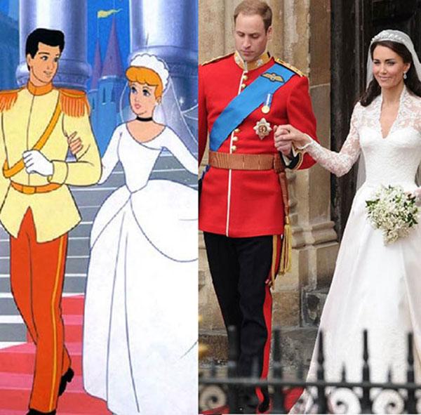 7 bộ cánh khiến công nương Kate y chang các nàng công chúa Disney - ảnh 1