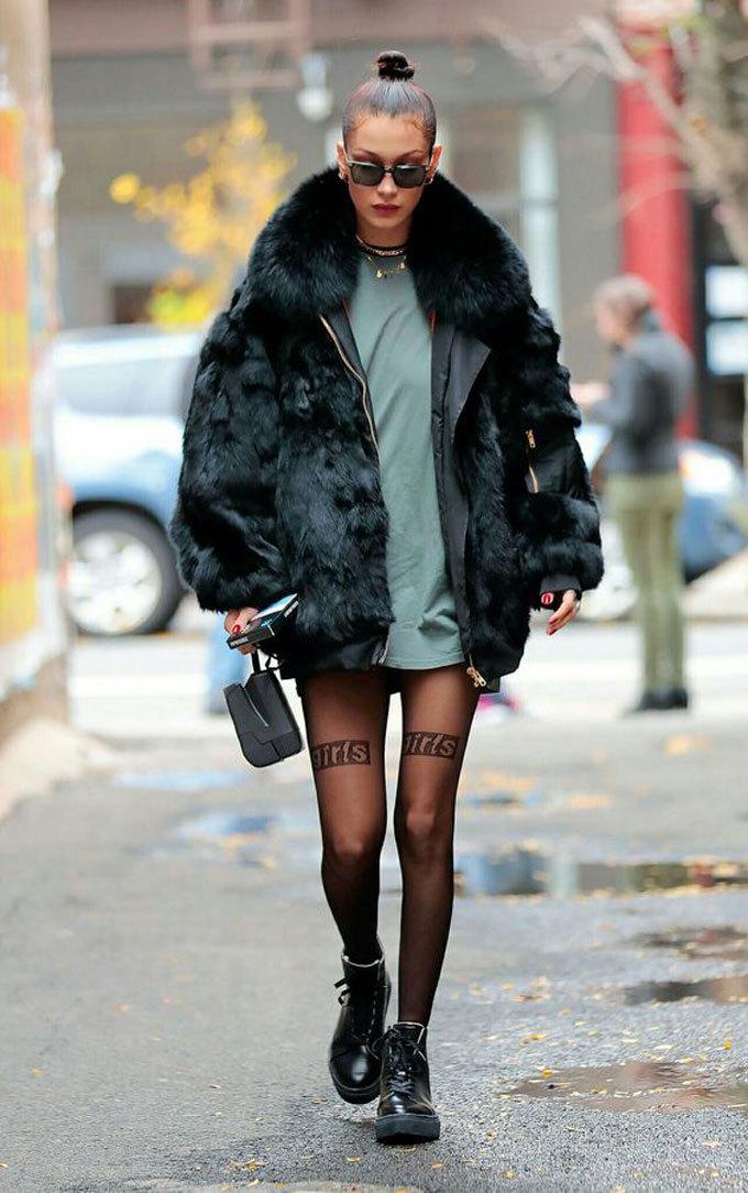 Diện áo lông sang chảnh như fashionista