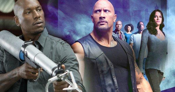 Tyrese Gibson đổ lỗi cho The Rock làm trễ lịch phát hành Fast 9 tới tận năm 2020.