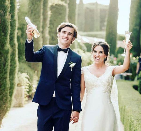 Top đám cưới nổi bật của sao sân cỏ năm 2017 - 2