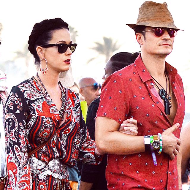Sau hơn một năm say đắm bên nhau, Katy Perry và Orlando Bloom tưởng chừng như đã tính đến chuyện kết hôn. Tuy nhiên nữ ca sĩ The Roar và tài tử Cướp biển vùng Caribbe đã kết thúc mối tình vào tháng 2 năm nay. Đến tháng 8, hai người ôm eo đi xem ca nhạc ở Los Angeles làm rộ tin đồn họ đã tái hợp. Tuy nhiên, Katy và Orlando chỉ giữ mối quan hệ bạn bè chứ không quay lại hẹn hò.