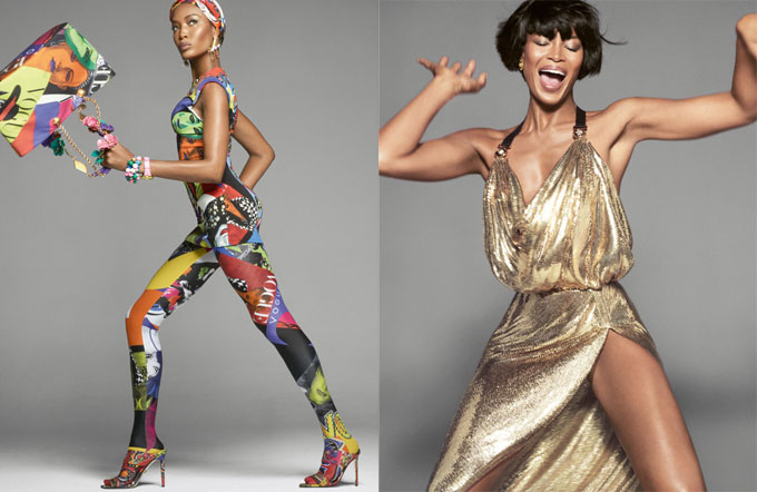 Báo đen Naomi Campbell.
