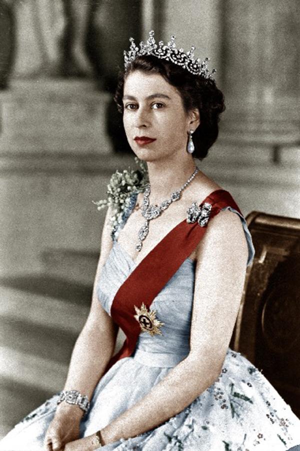 Nữ hoàng Elizabeth đã
