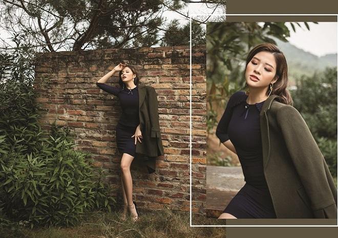 Hoa hậu Phan Hoàng Thu quyến rũ trong BST Winter in town của Demeyo - 12