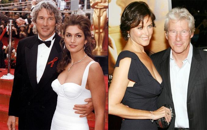Sau thành công của bộ phim Pretty Woman, Richard gặp gỡ và kết hôn với siêu mẫu Cindy Crawford từ năm 1991 đến 1995, sau đó là cựu người mẫu Carey Lowell từ năm 2002 đến 2015. Ông có một con trai với Carey Lowell.