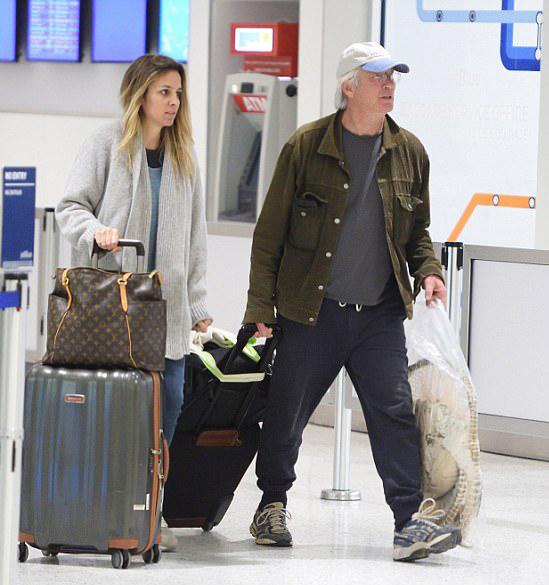 Hai người trở về New York hôm 2/1 sau kỳ nghỉ lãng mạn.