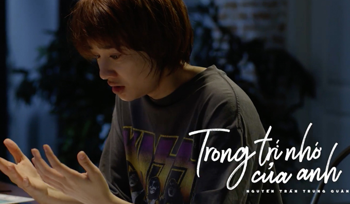 MV Trong trí nhớ của anh là sản phẩm mới của ca sĩ Nguyễn Trần Trung Quân, dự kiến phát hành vào ngày 9/1 tới.