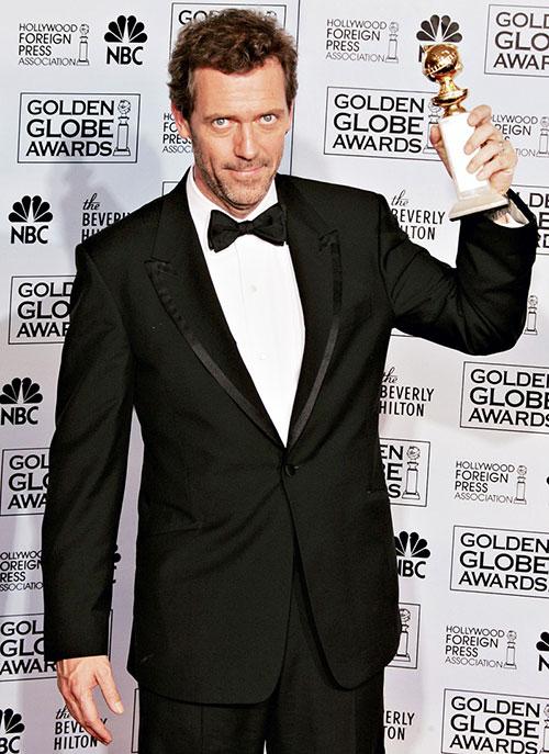 Hugh Laurie khó xử vì có quá nhiều người cần cảm ơn.