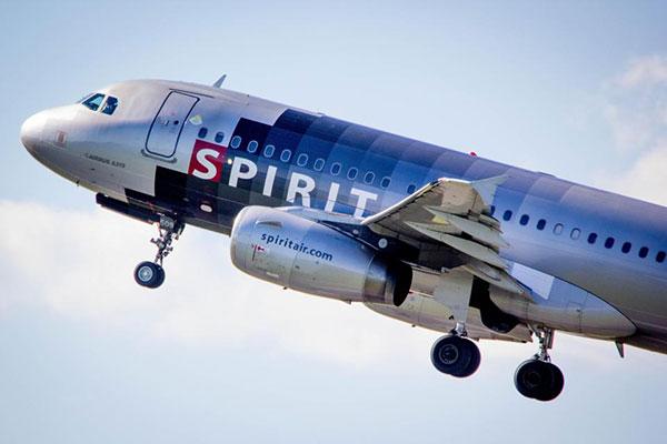 Sự việc xảy ra trên chuyến bay của hãng Spirit.