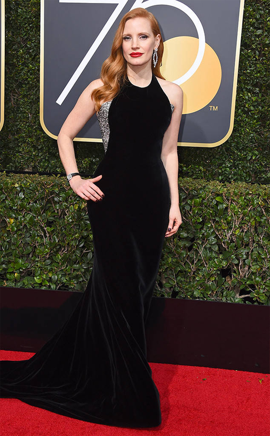Minh tinh Jessica Chastain.