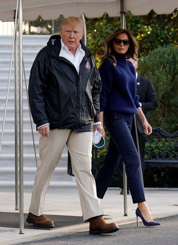 Khoảnh khắc thời trang nổi bật của bà Melania Trump trong năm qua