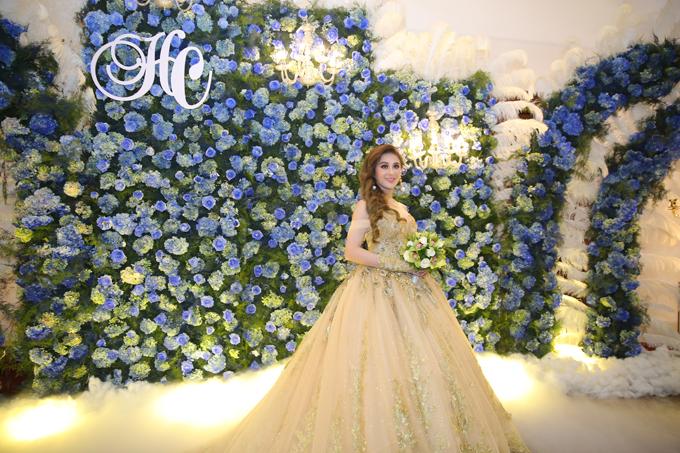 Trong ngày làm cô dâu