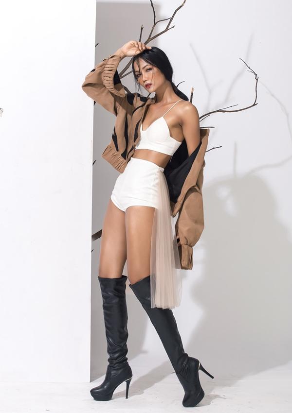 Hình ảnh cá tính, sexy của H Hen trước khi thành hoa hậu - 5