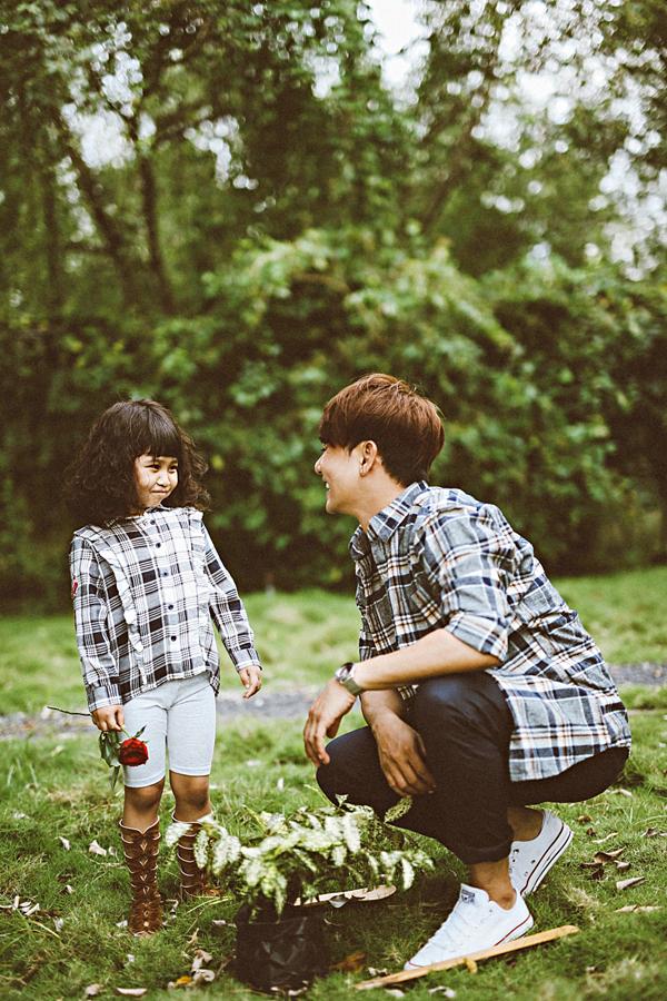 Ca sĩ Ưng Đại Vệ khoe con gái 5 tuổi xinh xắn - 6