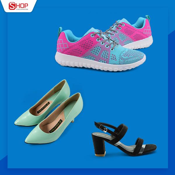 Tủ đồ của bất kỳ cô gái nào cũng có vài đôi giày để thay đổi. Khi đi tiệc, phái đẹp có thể chọn những đôi xăng đăn đế cao hay giày cao gót tôn dáng. Lúc cần di chuyển nhiều, giày sneaker tiện dụng phối cùng trang phục sẽ khiến người dùng cảm thấy thoải mái, năng động hơn.