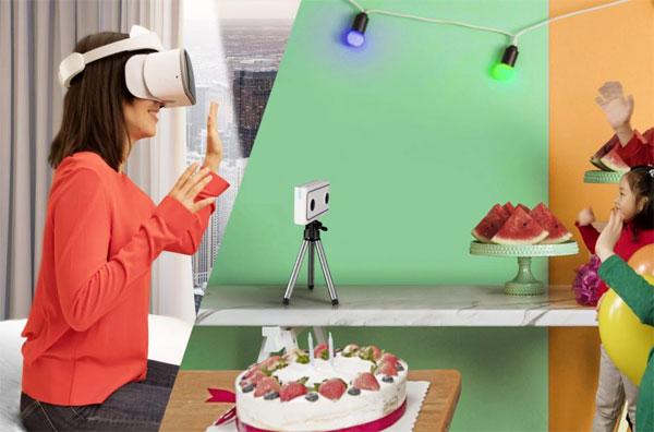 Lenovo giới thiệu camera thực tại ảo mới ở CES 2018