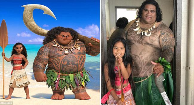Chàng thu ngân nổi tiếng vì giống hệt Maui trong phim Moana - ảnh 2