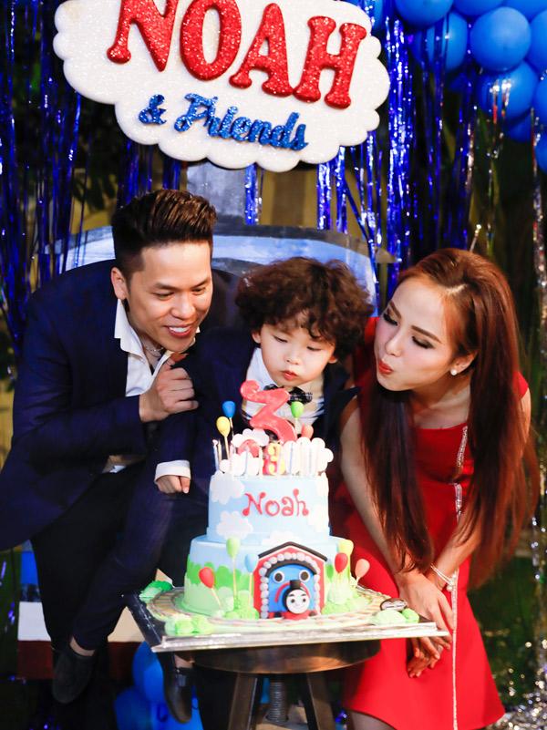 Sau tin đồn ly hôn, Diễm Hương tiết lộ vợ chồng cô muốn có thêm con - ảnh 1