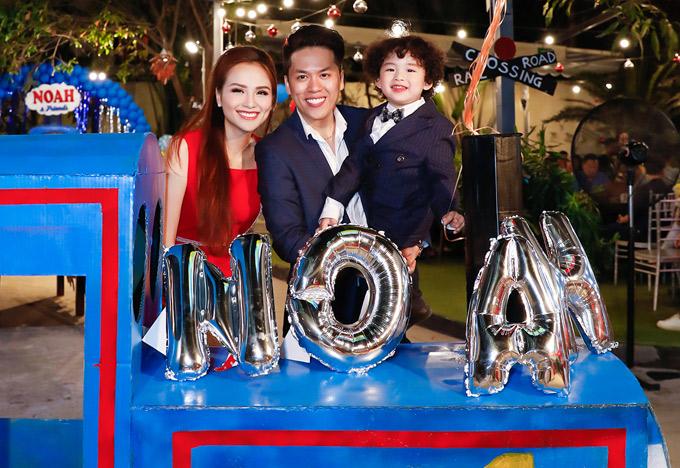 Sau tin đồn ly hôn, Diễm Hương tiết lộ vợ chồng cô muốn có thêm con - ảnh 5