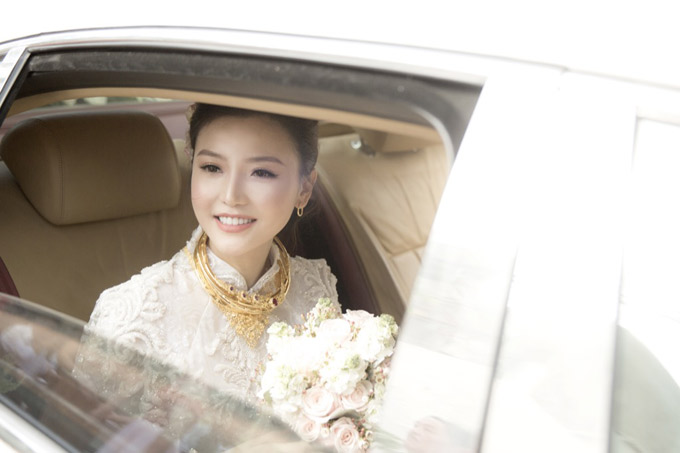 Hậu trường đám cưới của Ngọc Duyên và chồng đại gia tại Vũng Tàu - ảnh 9