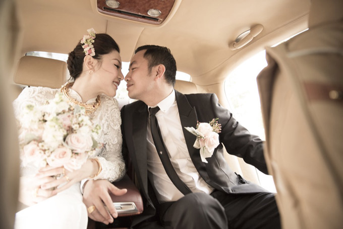 Hậu trường đám cưới của Ngọc Duyên và chồng đại gia tại Vũng Tàu - ảnh 10