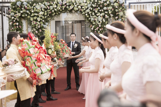 Hậu trường đám cưới của Ngọc Duyên và chồng đại gia tại Vũng Tàu - ảnh 5