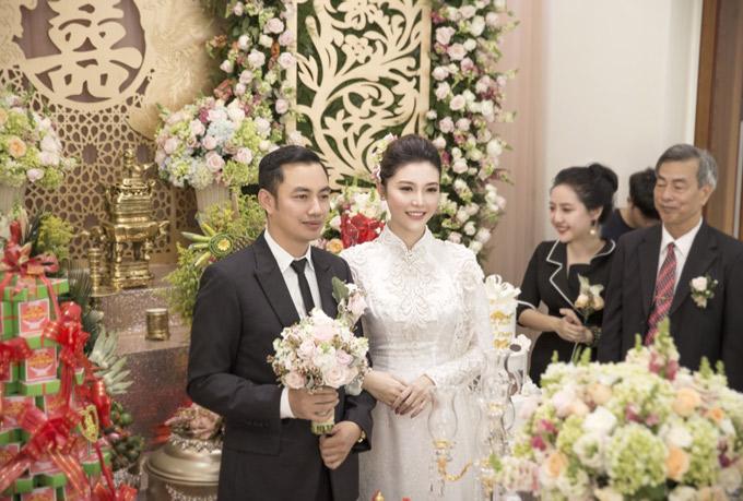 Hậu trường đám cưới của Ngọc Duyên và chồng đại gia tại Vũng Tàu - ảnh 6