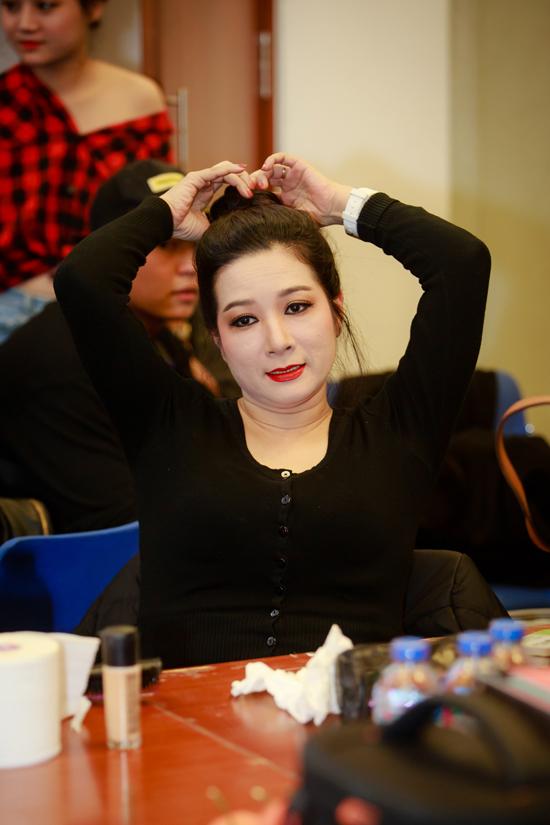 Nghệ sĩ Thanh Thanh Hiền cũng tham gia chương trình Xuân phát tài 8 vào tối qua.