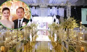 Không gian tiệc cưới của Ngọc Duyên và chồng đại gia tại khách sạn 5 sao