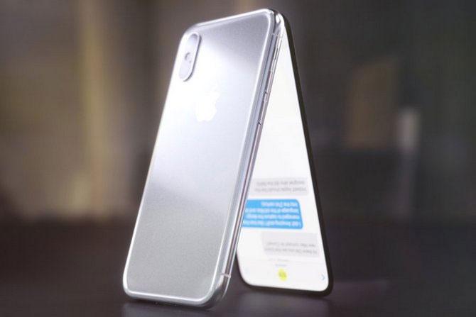 Thoạt nhìn, thiết bị ý tưởng giống như hai iPhone X gắn liền với nhau qua một bản lề.