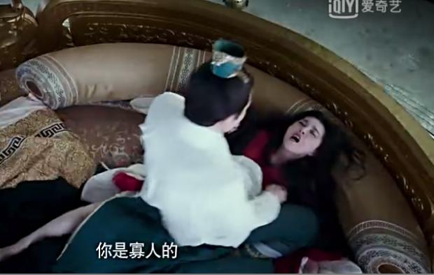 Một cảnh phim Thắng Thiên Hạkhiến nhiều người bức xúc.