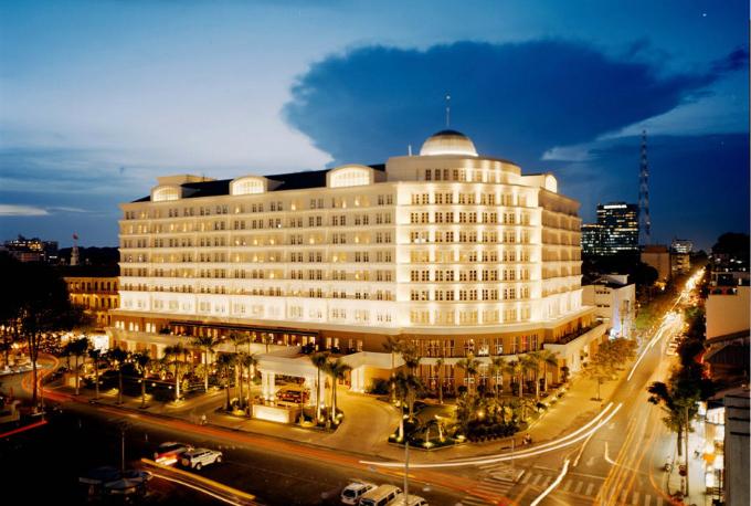 Park Hyatt Saigon tại TP HCM nằm ở vị trí đắc địa.