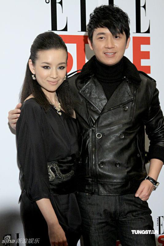 Đổng Khiết và Phan Việt Minh thời còn chung sống hạnh phúc.