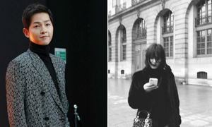 Song Hye Kyo, Song Joong Ki sang Pháp dự tuần lễ thời trang