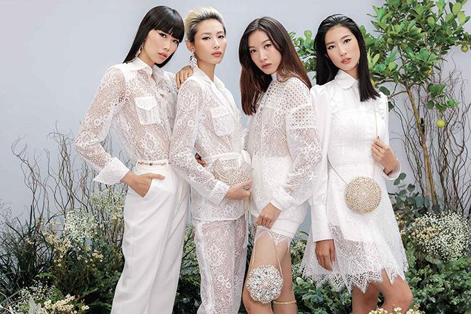 Để khán giả có cơ hội ngắm nhìn trọn vẹn các mẫu thiết kế vừa trình làng trong chương trình Shes A Goddess, Chung Thanh Phong đã thực hiện bộ ảnh mới với sự góp mặt của các người mẫu quen thuộc của làng mốt Việt.