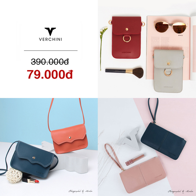BST túi xách đồng giá từ 79.000 đồng của Verchini - 1