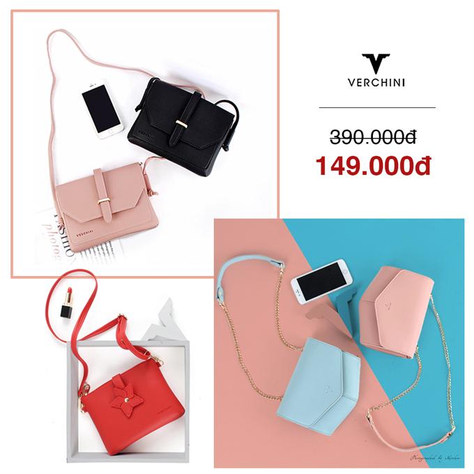 BST túi xách đồng giá từ 79.000 đồng của Verchini - 2