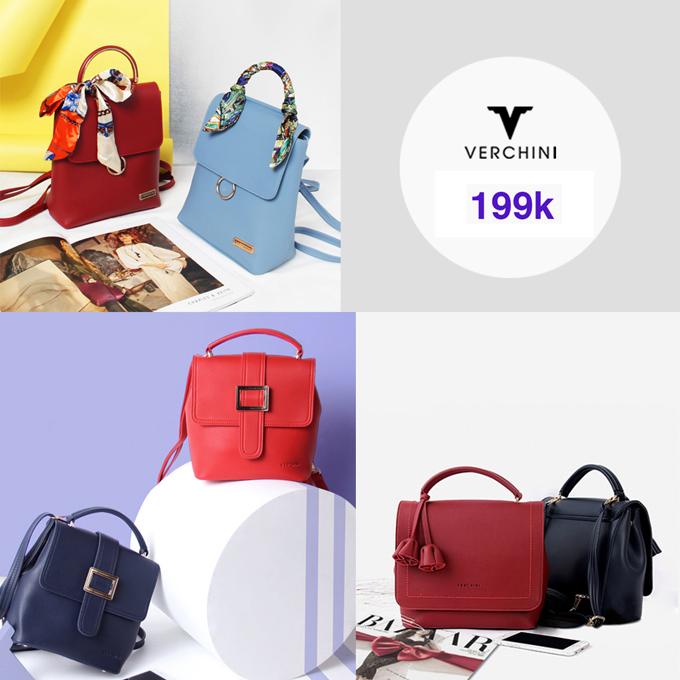 BST túi xách đồng giá từ 79.000 đồng của Verchini - 9
