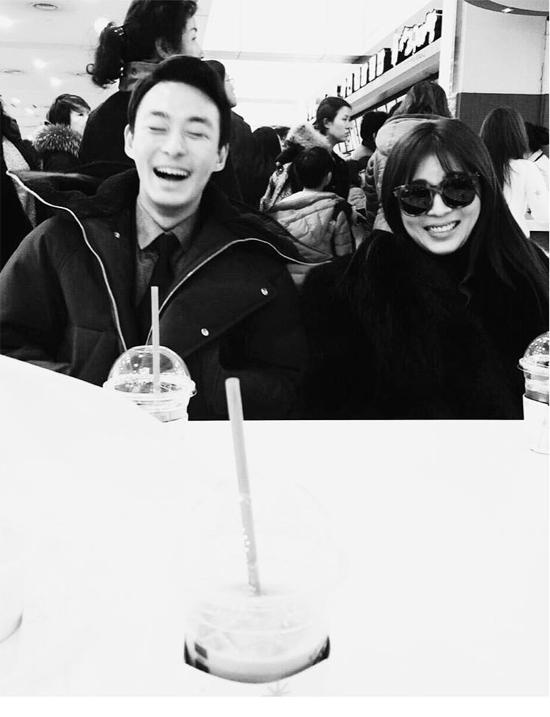 Ha Ji Won chia sẻ hình ảnh trên trang cá nhân.