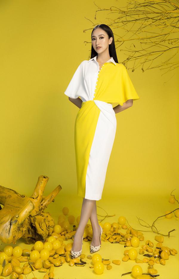 Bộ ảnh được thực hiện với sự hỗ trợ của nhiếp ảnh Lê Thiện Viễn, trang điểm Kuny Lee, stylist Hiệp Chu.