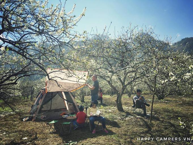 Lên Mộc Châu cắm trại giữa mùa thập lý hoa đào - 4