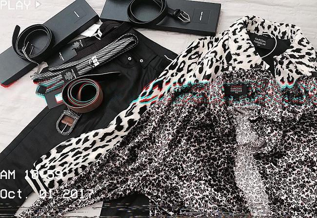 Loạt đồ mới sắm của Sơn Tùng trị giá khoảng 80 triệu đồng.