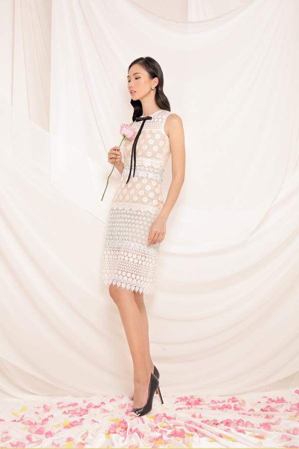 Đầm ôm body, váy cocktail, váy mullet, đầm đi kèm áo trùm vai cộng với sự đa dạng của chất liệu vải hoa ren mang tới nhiều sự lựa chọn cho phái đẹp.